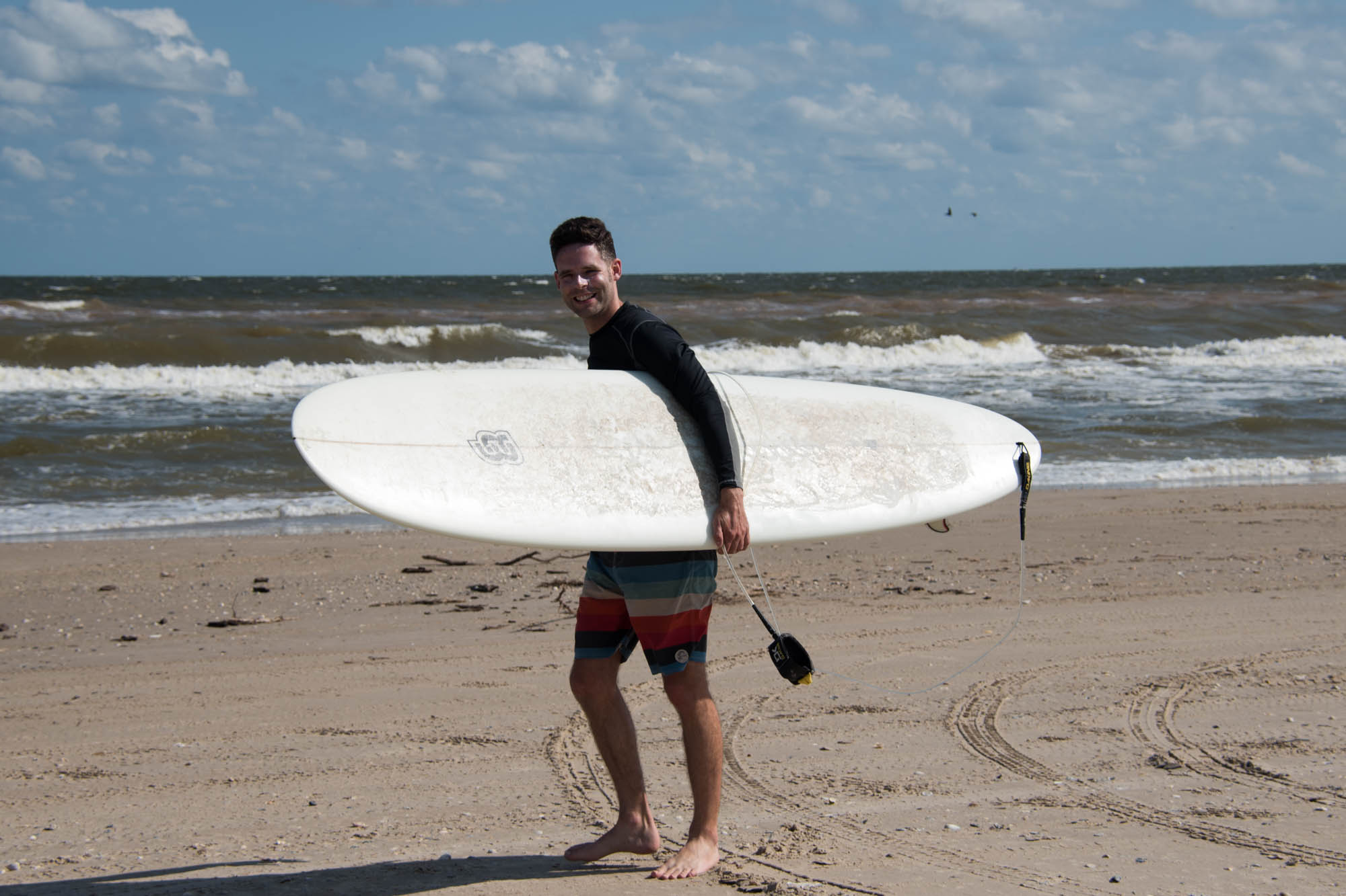 surfing in matagorda