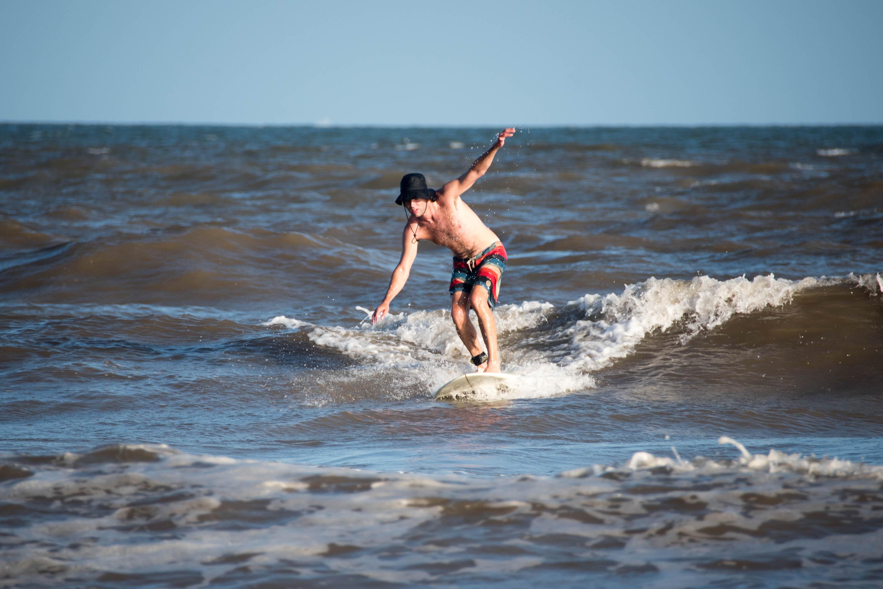 surf in galveston