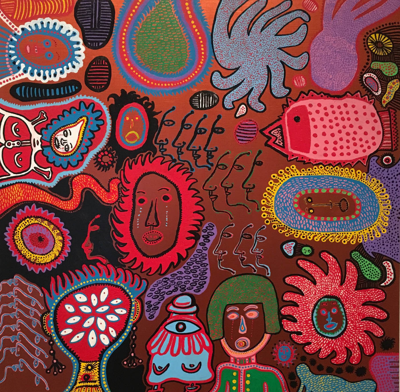 kusama eternal soul painting
