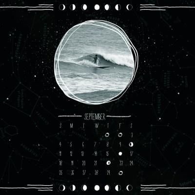 September Moon Calendar