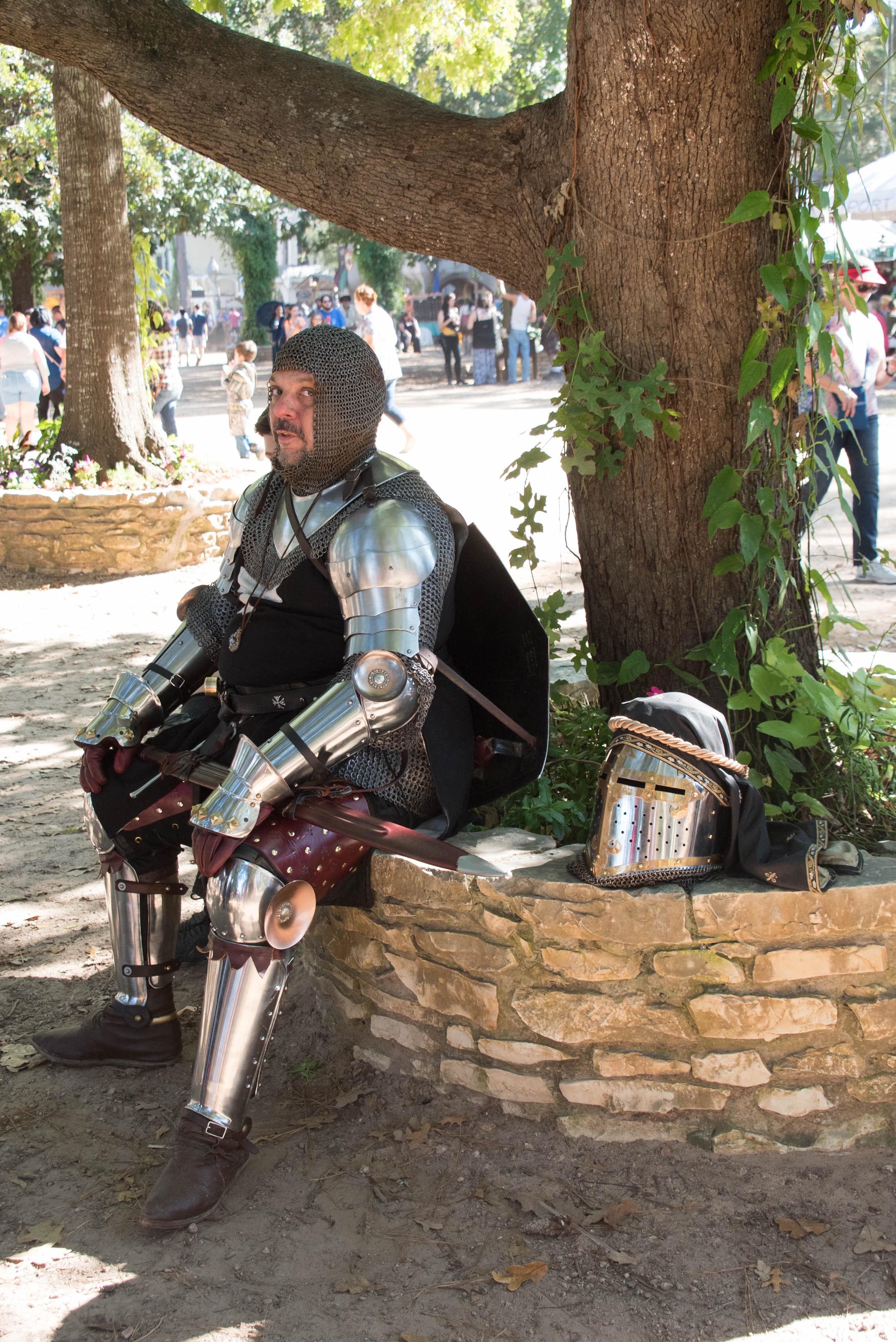 renaissance festival knight