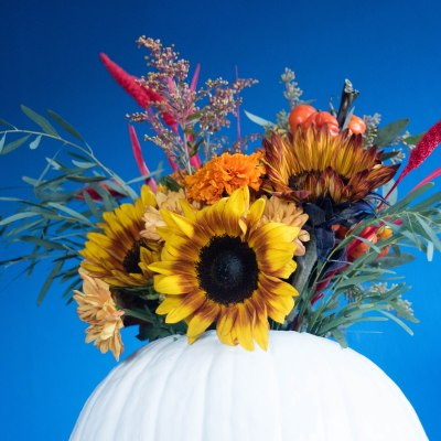 DIY Pumpkin Centerpiece for Thanksgiving