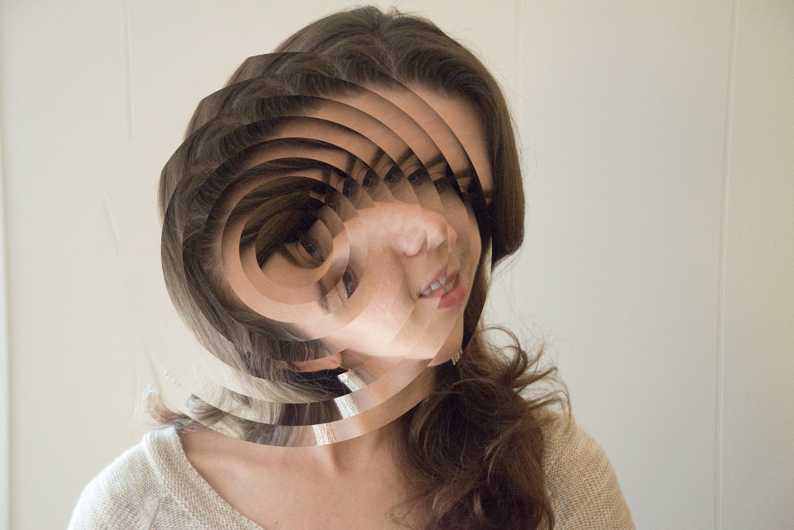 How to make circle photo collage
