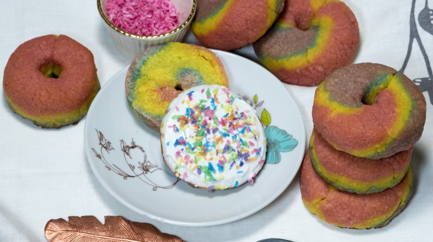 grain free rainbow bagel recipe
