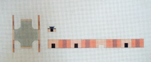 painting needlepoint canvas