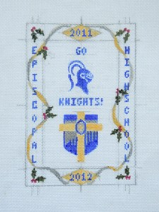 cross stitch canvas diy