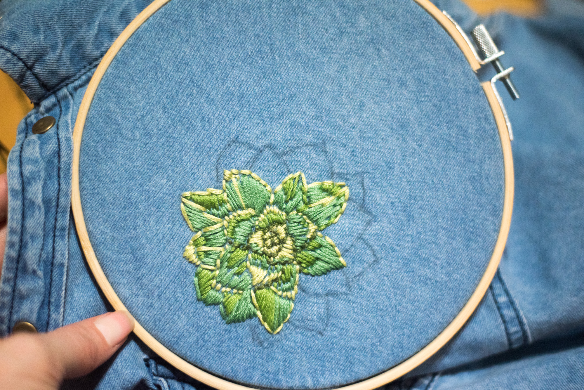 hand embroider diy