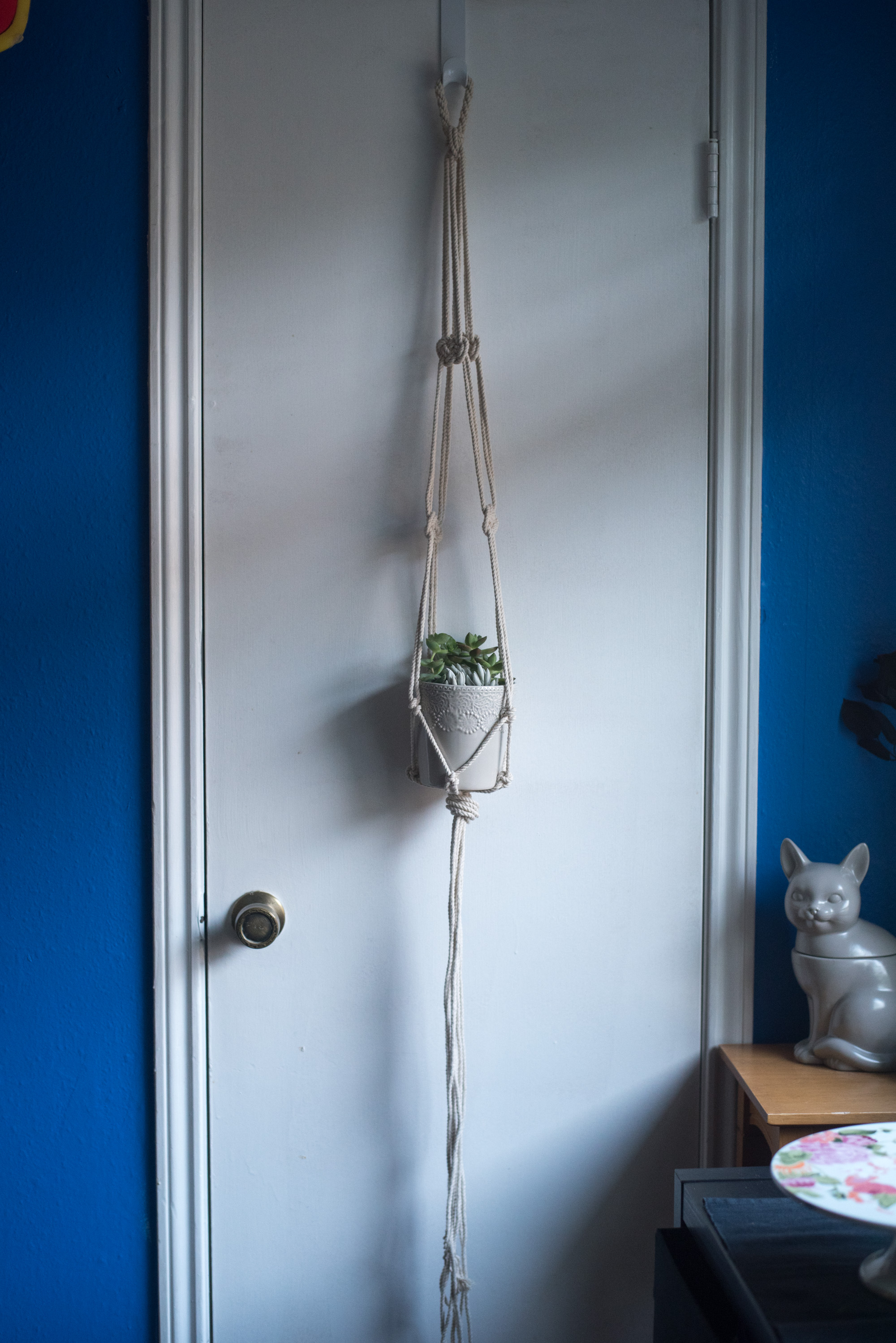 macrame planter tutorial