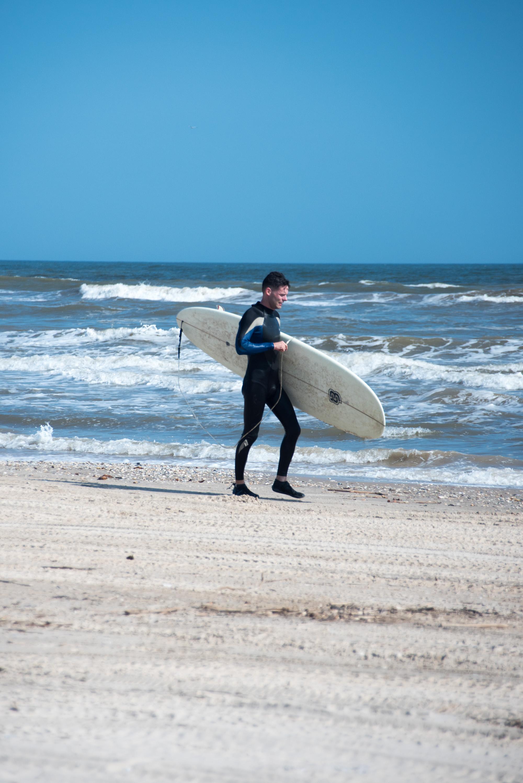 matagorda surf day