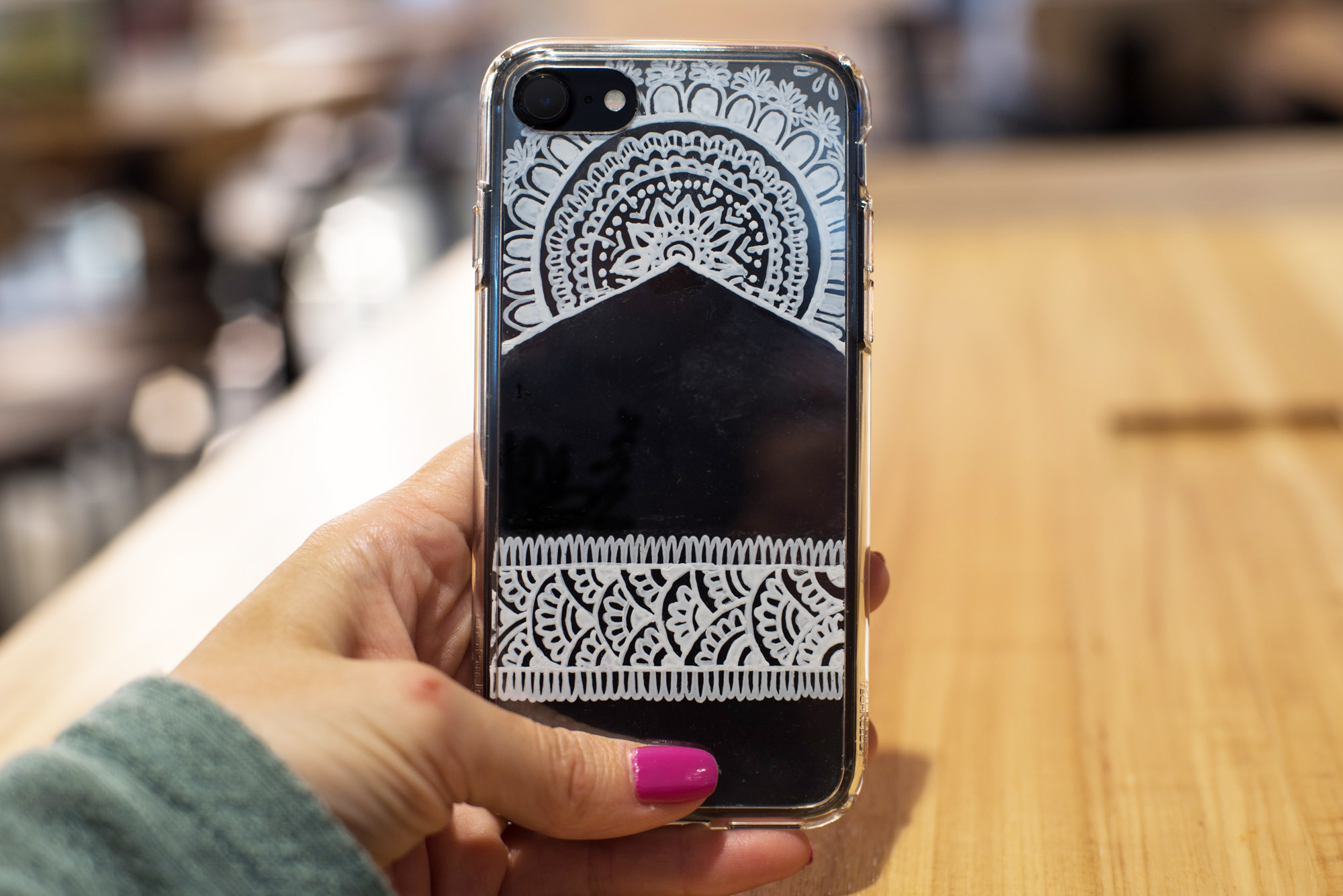 DIY Henna Phone Case - Likely By Sea