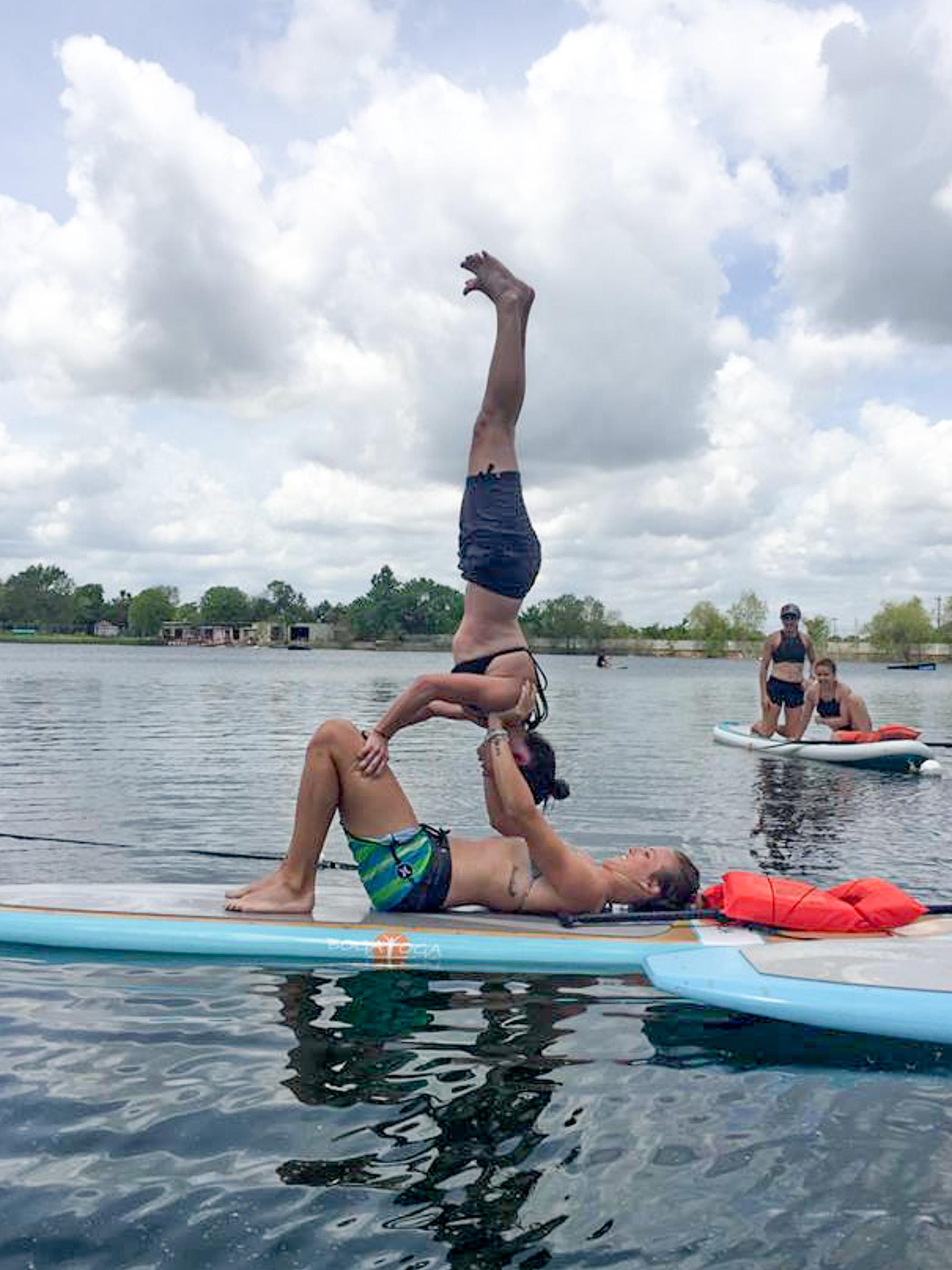 sup yoga photo tips