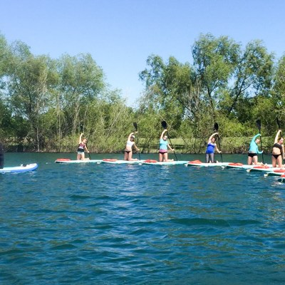 Tips for SUP Yoga on Windy Days