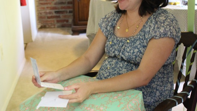 A glance at Dino's Baby Shower {and giveaway winner!}