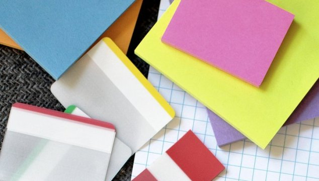 Simplify your To-Do list with sticky notes.