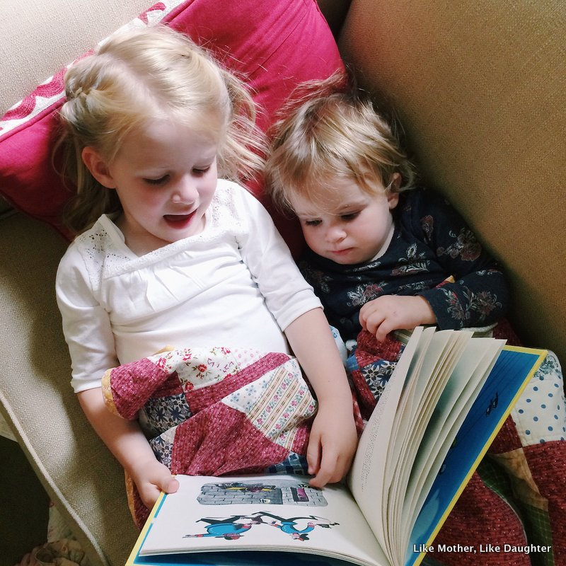 How to read aloud ~ Like Mother, Like Daughter