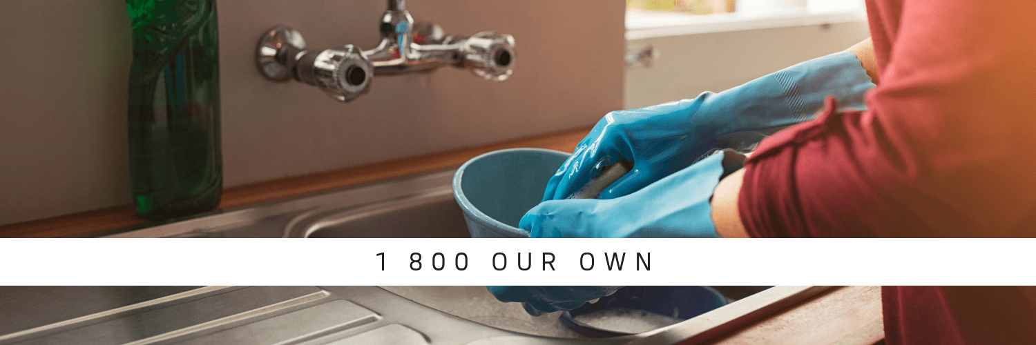 Like Our Own Household Help washing up and making life easier for you