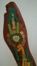 Detail of an art piece