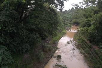 Wild chocolate river