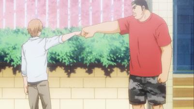 Fist bump, bro!