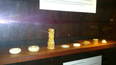 A lone Chess piece and other curios