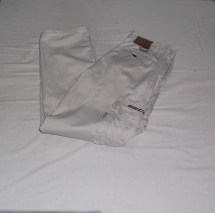 Cream Cargo Pants, Mecca