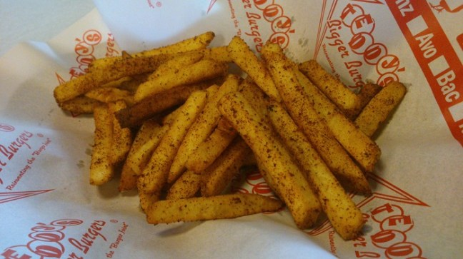 Small Cajun Fries, Php 98.00