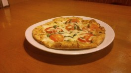 Five Cheese + Tomato Pizza, Php 250.00