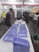 Instruments sterilized