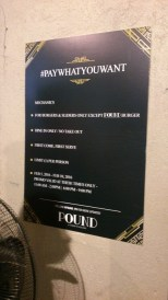 #PayWhatYouWant Rules