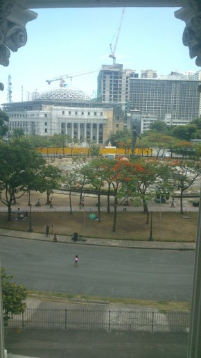 The site of the future Philippine Museum of Natural History