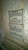 The rules of Campo Santo and the crypt