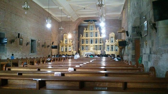 The half empty church
