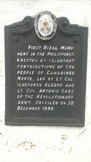 Morga Monument Marker