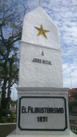 Morga Monument mentions Rizal's Novels