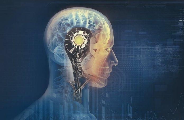 a brain of man improves