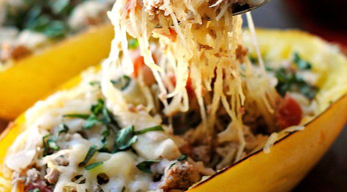 Spaghetti Squash Lasagna with Broccolini