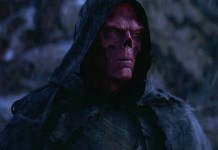 red skull from from avenger infinity war