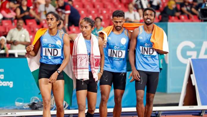 indian athletics at asian games