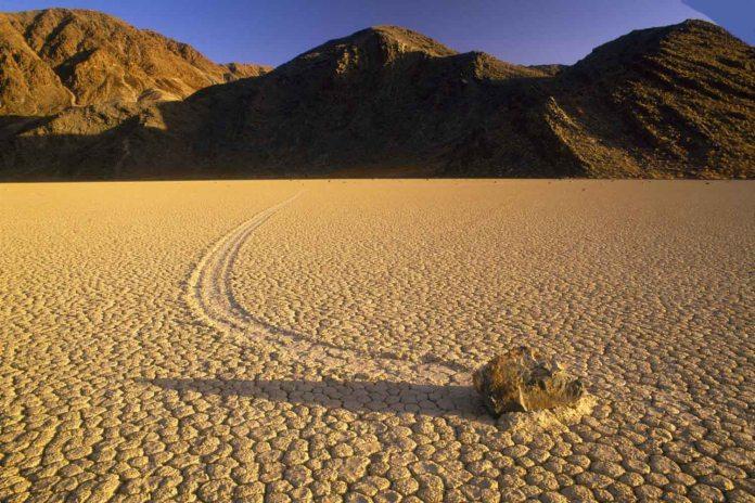 Racetrack Playa Sailing Stones Death Valley