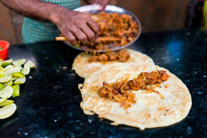 kathi roll in kolkata