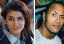 priya prakash and the rock