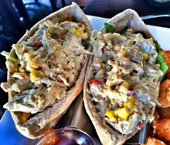 Tuna Salad Stuffed Pita