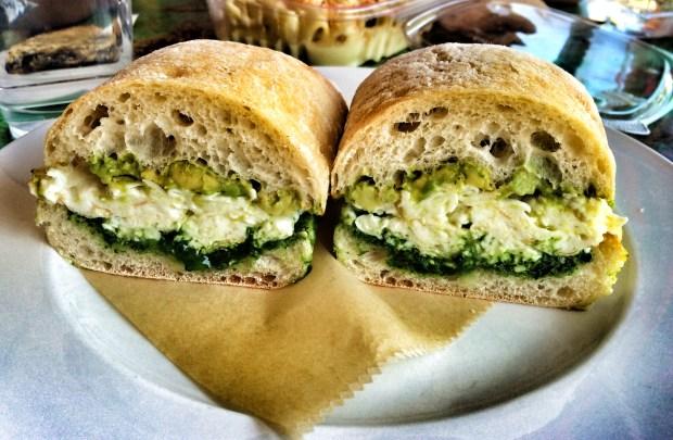 Skinny Egg Sandwich