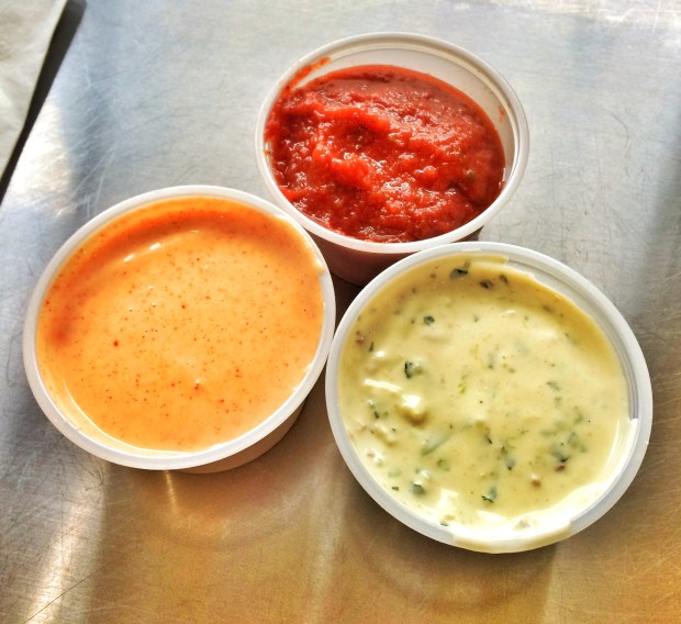 Trio of Sauces