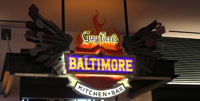 Guy Fieri Baltimore Kitchen Menu