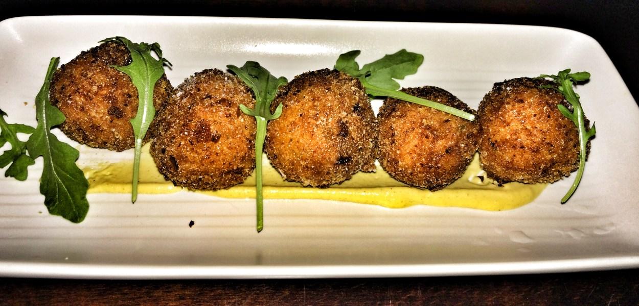 Cheddar Potato Croquets