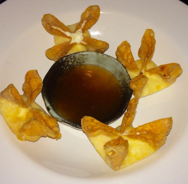 Pineapple Crab Wontons