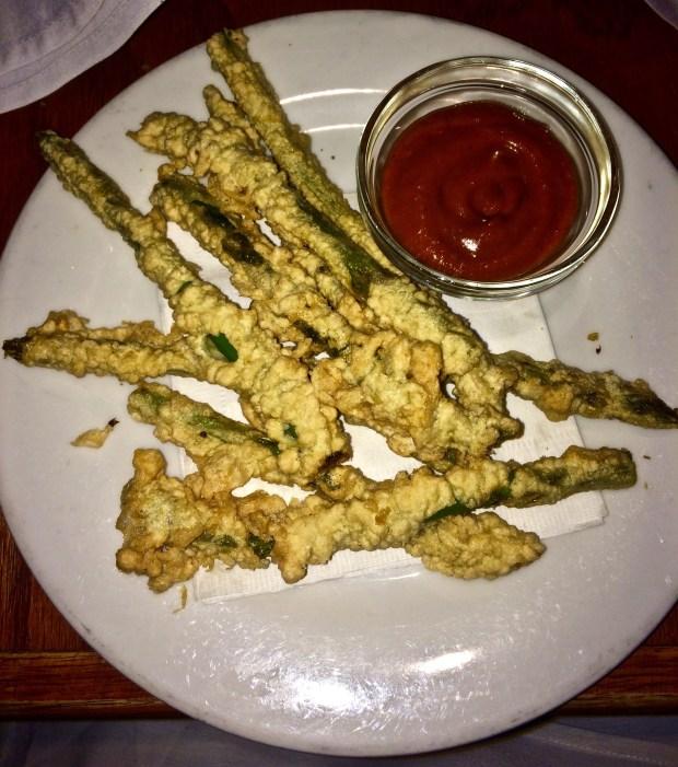 Asparagus Frites