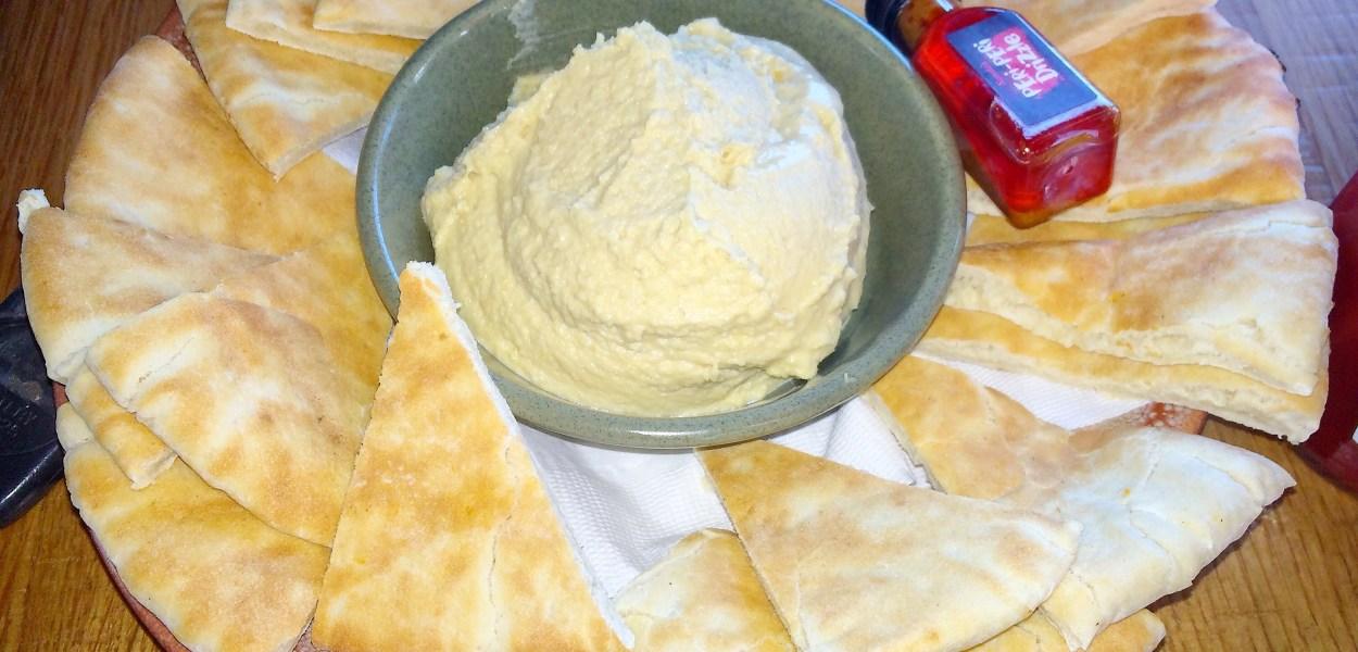 Hummus with Peri-Peri Drizzle