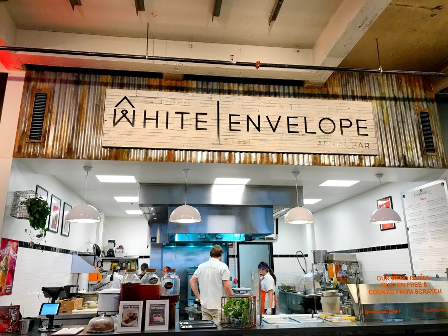 White Envelope Arepa Bar